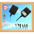 CE, UL5v 2a eu uk us au austauschbare stecker netzteil