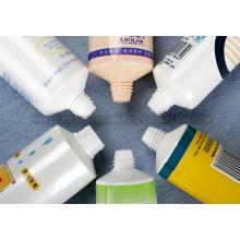 Plastic Cosmetic Soft Falt Tubes