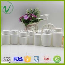 Botella plástica farmacéutica vacía redonda modificada para requisitos particulares de HDPE para el embalaje