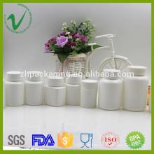Bouteille en plastique pharmaceutique en plastique HDPE personnalisée pour l'emballage de pilules