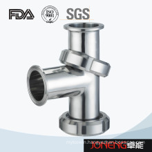 Stainless Steel Food Grade Clamp Nut Equal Tee (JN-FT3003)