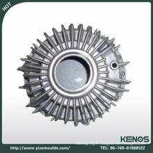 Fournir la pièce de moulage mécanique sous pression d'alliage d'aluminium d'OEM, pièces coulées sous pression de précision dissipateur de chaleur en aluminium