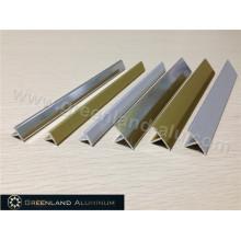 Alumínio T Forma Transição Tile Trim em dois tamanhos