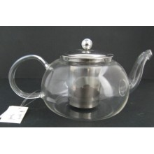 Borosilicate Glass Teapot for Home Decoration with Stainless Infuser
