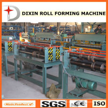 Ce / ISO9001 Certification Slitter Máquina de acero