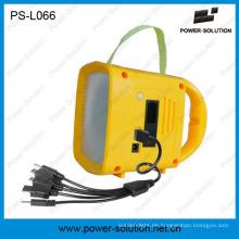 Am besten wieder aufladbares Solarlicht für im Freien kampierend mit mobilem Solarladegerät Radio-MP3