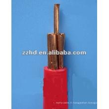 Prix de fil de PVC 4 par millimètre échoué par mètre