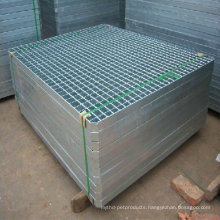 Q235 Mild galvanized serrated steel bar grating