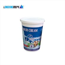 PP material disposable 350 ml plastic yogurt cup