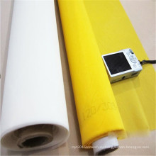 FDA сертификации сверхмощный 100% нейлон прозрачные сетка печатания ткани