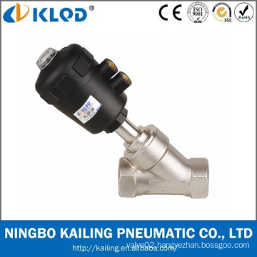 Pneumatic Power Stainless Steel Body Angel valve