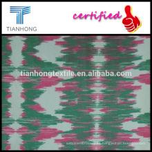 agua reflejo diseño tejido algodón técnica de la tela cruzada del spandex tela impresa mediados delgado para pantalones