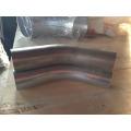 76mm diameter 45 degree High Pressure zinc plated industrial vacuum cleaner bend