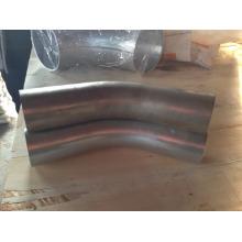 Courbe de 76mm diamètre 45 degrés haute pression zinguée industrielle aspirateur