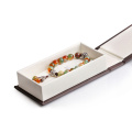 Vente en gros de boîtes de bijoux de vente chaude magnétique de carton de papier