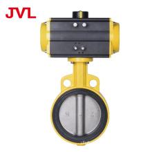 JL Pneumatic Soft seal worm gear butterfly valve