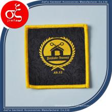 Écusson tissé à haute densité d'insignes / badges tissés à repasser / à coudre