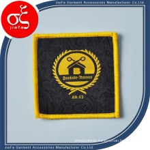 High Density Woven Badges Patch/Woven Badges Iron-on / Sew-on