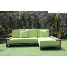 Newest Design Poly PE Rattan Outdoor Garden Furniture Sofa Set