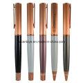 Prix d'usine Rose Gold Metal Copper Pen with Logo (LT-C450)