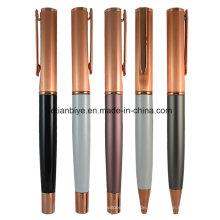 Fabrik-Preis Rose Gold Metall Kupfer Stift mit Logo (LT-C450)