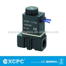 Serie 2P 2/2 válvula electromagnética (acero del plástico de ingeniería)