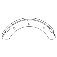 MB060101 Mitsubishi Canter brake shoes