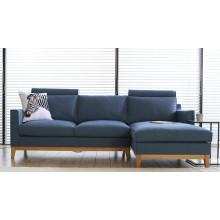 Moderne Wohnzimmermöbel 1 + 2 + 3 Stoff Sofa Set
