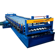 Botou supplier cnc control car plate container steel frame sheet freight car truck box board roll forming production line