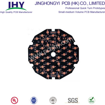 Aluminium LED-lamp PCB