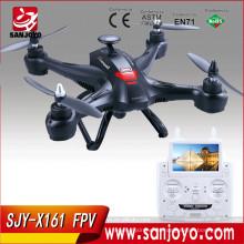 X161FPV superventas 4CH 2.4G 6-Axis Gyro RC quadcopters con 2MP HD cámara FPV en tiempo real de transmisión