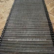 Correa transportadora de acero inoxidable / metal