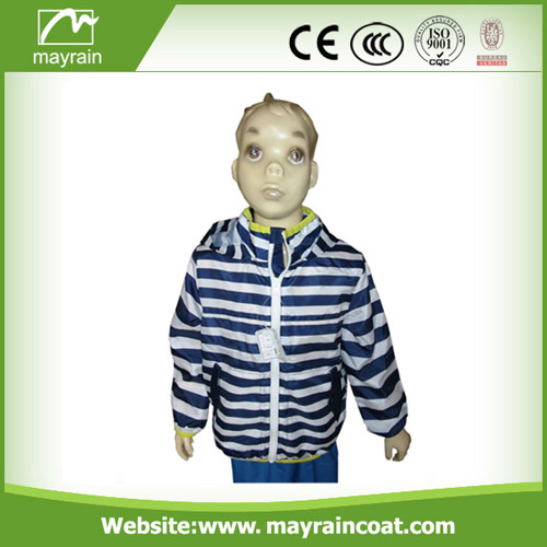 Polyester Long Rain Jacket
