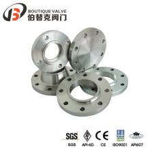 Reborde de válvula de acero inoxidable con válvula de bola (RF)