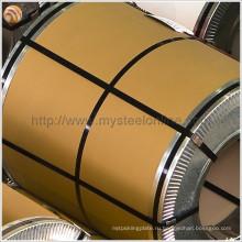 ASTM, BS, DIN, GB, JIS Стандартная PPGI стальная катушка с цветным покрытием Производитель от Китай