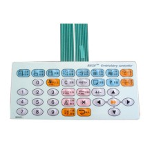 normal use good embroidery machine key pad