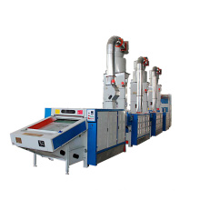 Cotton Waste Recycling Machine Opening / Tearing Clothes Jeans with Iron Wire Cylinder