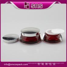 Emballage cosmétique en Chine, un récipient en plastique acrylique pour échantillons gratuits