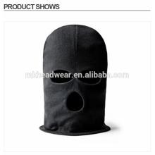 Fashion Black LONG NECK 3 trous Balaclava FACE MASK Knit Hat Cap Ski Tactical