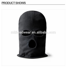 Fashion Black LONG NECK 3 Hole Balaclava FACE MASK Knit Hat Cap Ski Tactical