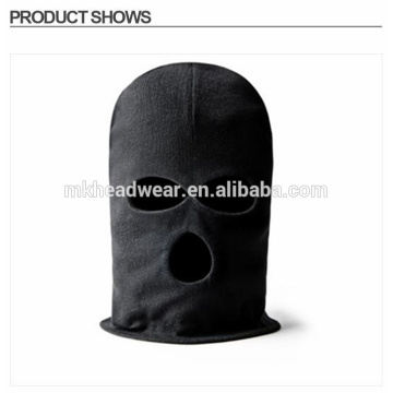 Fashion Black LONG NECK 3 Hole Balaclava FACE MASK Knit Hat Cap Ski Tactical
