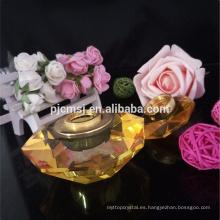botella de perfume de cristal elegante botella decorativa de attar con 1-10 ml
