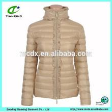 2015 new arrival Khaki winter ladies outdoor jacket