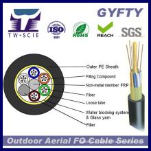 Non-Metallic renforcent le câble optique de fibre de noyau de Memeber 48