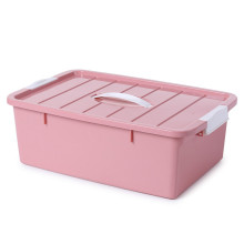 Plastic Shaped Bento Box with Lid-Medium Size