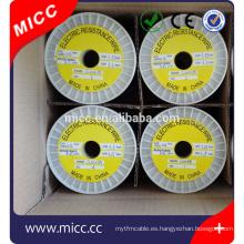 MICC Nickel Chrome 8020 0.4mm Resistencia de aleación Cable de calefacción
