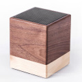 2021 New products Portable Gift Wood Promotional  Wooden Wireless Outdoor MINI  simple wood portable  speaker