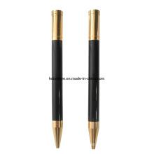 Rationalisez le stylo à bille en métal avec le logo personnalisé sur le dessus (LT-Y074)