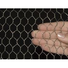 Rede de arame hexagonal galvanizado quente-mergulhado