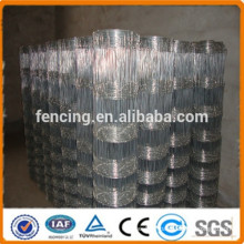 hinge jointed galvanized cattle fence / field fence / grassland fence